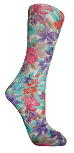 Soxtrot Cotton Sox - Winter Garden