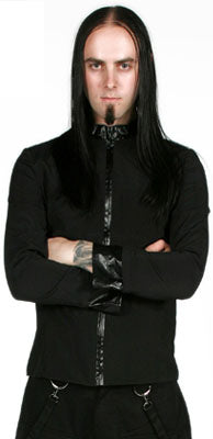 Covet Couture Zip Up Fitted Jacket, Masculine Clothing, Covet Couture, Club Freak for Goth and Fetish Fashion