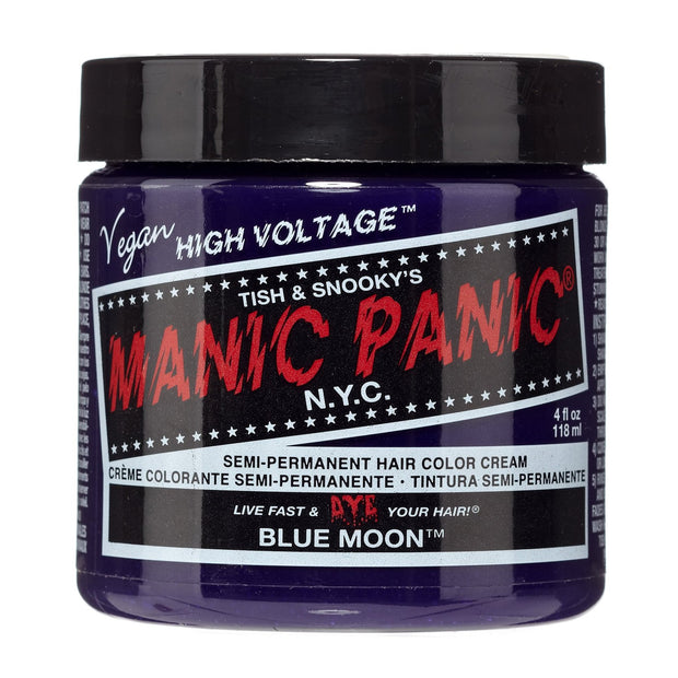 Blue Moon - Classic High Voltage, Accessories, Manic Panic, Club Freak for Goth and Fetish Fashion