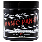 Raven - Classic High Voltage, Accessories, Manic Panic, Club Freak for Goth and Fetish Fashion