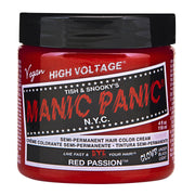 Red Passion - Classic High Voltage, Accessories, Manic Panic, Club Freak for Goth and Fetish Fashion