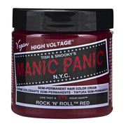 Rock n Roll Red - Classic High Voltage, Accessories, Manic Panic, Club Freak for Goth and Fetish Fashion