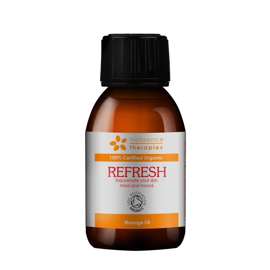 Refresh Organic Massage Oil (Refrescante – Aceite de Masaje BIO) 100ml
