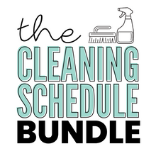 Load image into Gallery viewer, The Cleaning Schedule Bundle (Editable PDFs) - Instant Download