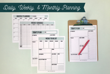 Load image into Gallery viewer, My Life Organized Printables Bundle