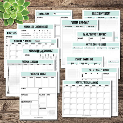 My Life Organized Printables Bundle - Instant Download