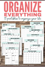 Load image into Gallery viewer, My Life Organized Printables Bundle - Instant Download
