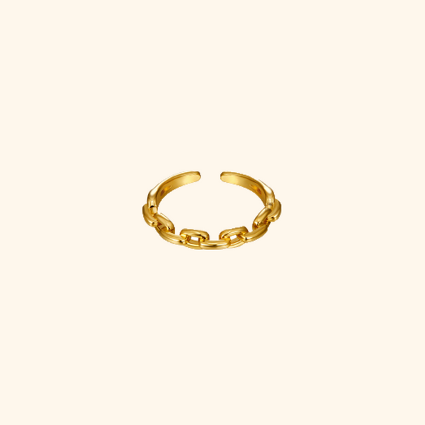 Cuffed Chain Ring