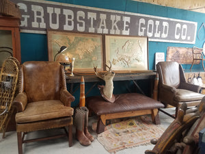 Grubstake Gold Co Mining Sign-Montana