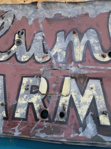 Columbia Pharmacy Salvage Sign