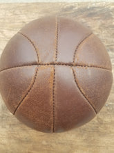 Load image into Gallery viewer, Leather Medicine Ball