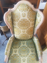 Load image into Gallery viewer, European Wingback Slipper Chairs-Pair