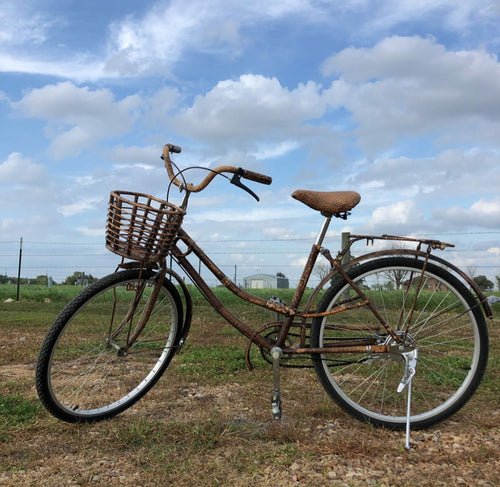 Rattan Wicker Women's Bicycle