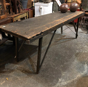 Folding Harvest Table Work Bench