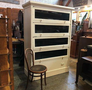 GIANT Painted Barrister Bookcase