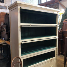 Load image into Gallery viewer, GIANT Painted Barrister Bookcase