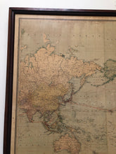 Load image into Gallery viewer, Antique 1930's Steamship Map