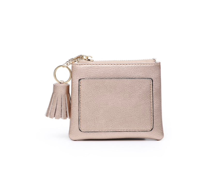 Rose Gold Coin Pouch