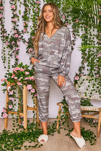 Camo Long Sleeve Set