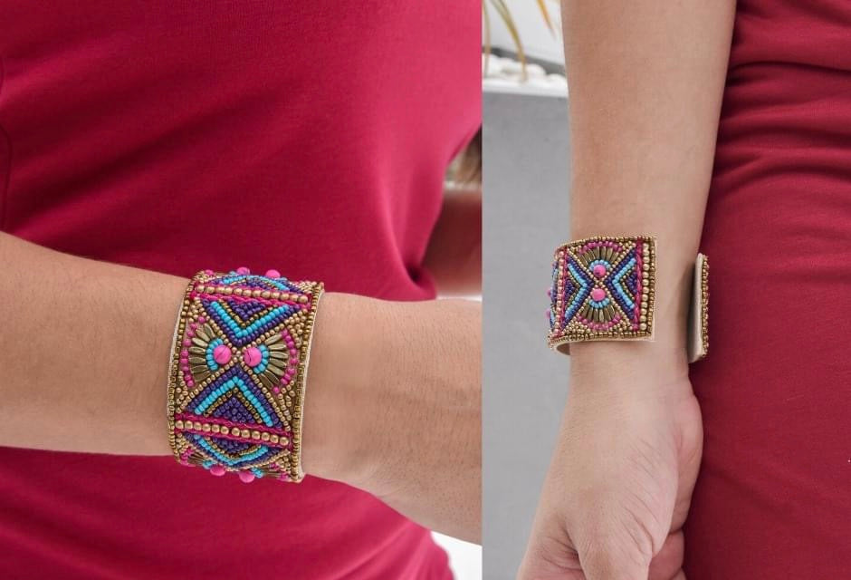 Mult Color Bright Cuff