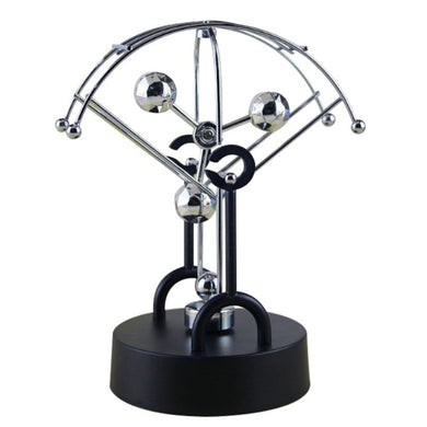 Kinetic Art ! Mobile Milky Way Gizmos Perpetual Motion Spherical Pendulum Revolving Desk Orbital Toy Home Decoration
