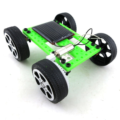 DIY Solar Energy Car Handmade Toys Physical Gizmo Building Blocks Kits Solar Energy Assembled Toy Teaching Tool