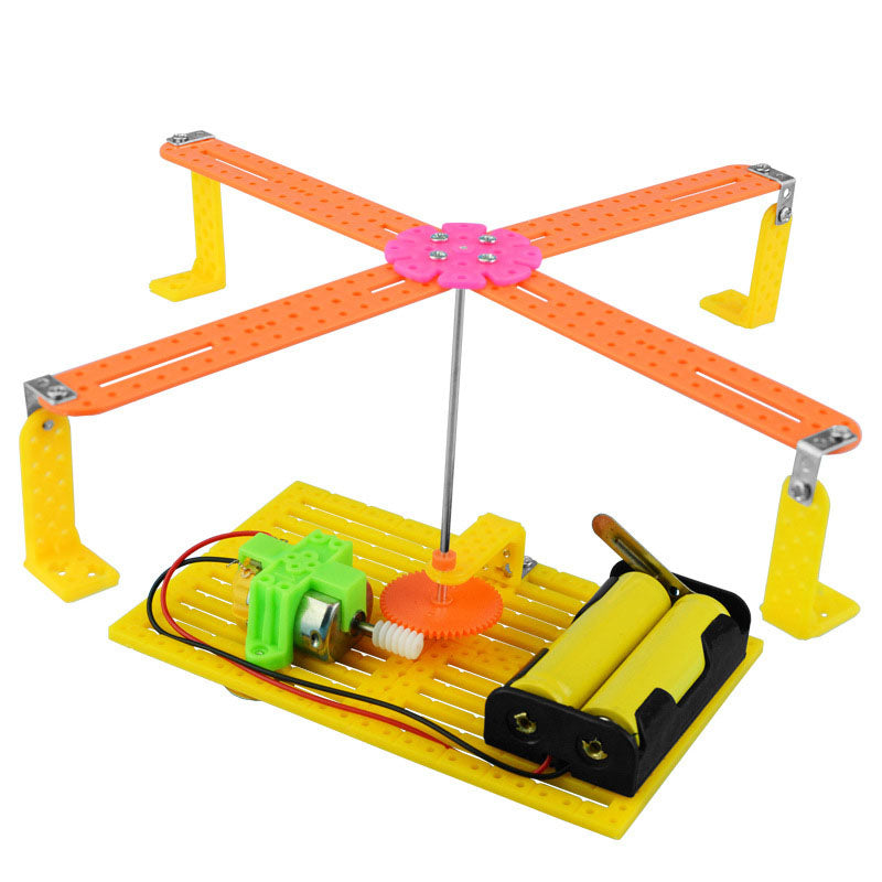 DIY Assemble Electric Recorder Puzzle Science Physic Experiment Kit Kid Toy