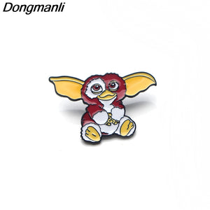P3085 Dongmanli Cute Gremlins Cartoon GIZMO Metal Enamel Pins and Brooches  for Women Men Lapel Pin Backpack Bags Hat Badge