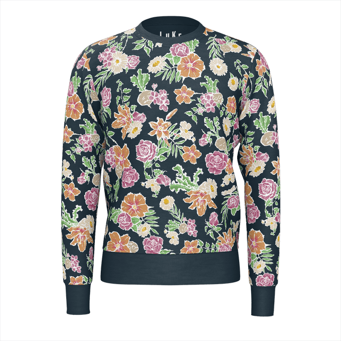Turnip Floral - Pullover