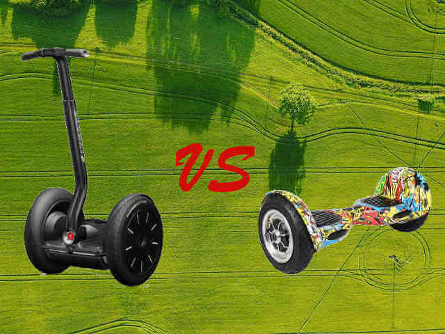 Segway vs Hoverboard,which one is better?(Hoverboard vs Segway minipro)