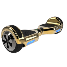 Smarthlon 6.5 Inch Classic Hoverboard Black White Blue Grafitti