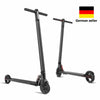 Used Electric Scooter Almost New 6.5inch Wheels Foldable City E-Roller Black