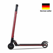 Electric Scooter 601 6.5inch Wheels Foldable City E-Roller Red