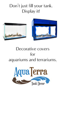 Display your aquarium with a decorative cover