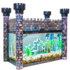 Aquarium Castle Cover - Stone - Aquaterra Tank Decor