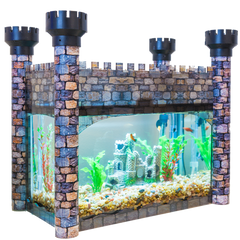 Aquarium Castle Cover - Aquaterra Tank Decor