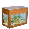 Aquarium Treasure Chest Cover - Wood - Aquaterra Tank Decor