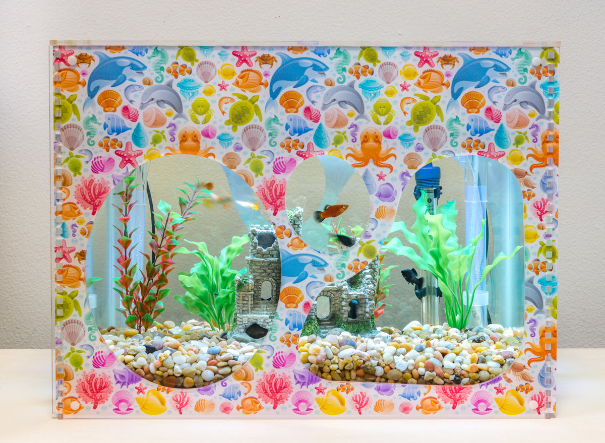 Aquarium Decorative Cover - Marine Live 4 - Aquaterra Tank Decor