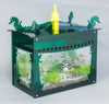 Aquarium Decorative Cover - Emerald Green - Aquaterra Tank Decor