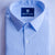 Blue Slim Fit Formal Shirt - Bruttlyn
