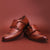 Brown Genuine Leather Formal Monks - Bruttlyn