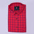 Crimson Red Formal Shirt - Bruttlyn