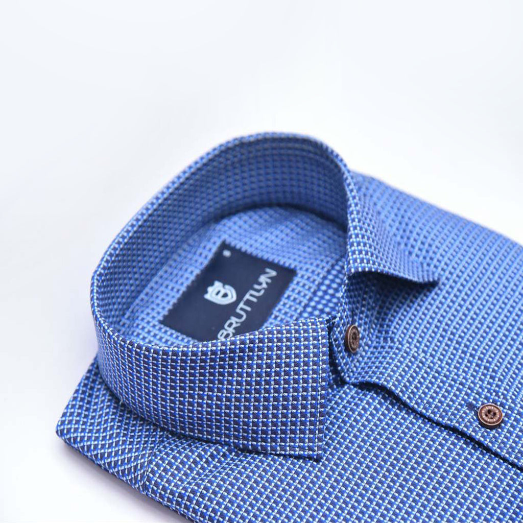 Element Blue Shirt - Bruttlyn