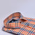 Orange Checks Printed Semi Formal Shirts - Bruttlyn
