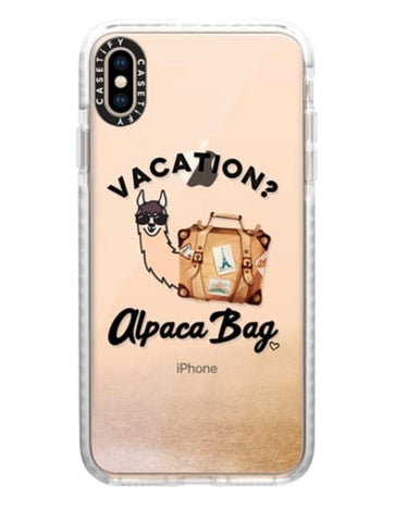 Vacation Alpaca Bag