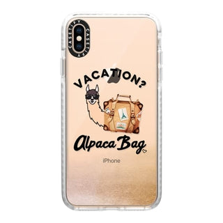 Travel Suppliers Plus Casetify Collection - Vacation Alpaca Bag Phone Case