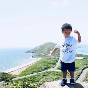 Prince of Vacay - Youth T-Shirt - Travel Suppliers Plus