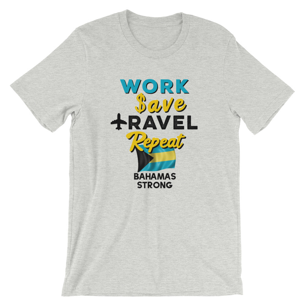 Bahamas Strong Unisex T-Shirt For Hurricane Dorian Relief - Travel Suppliers Plus