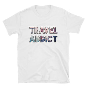 Golden Gate Bridge / SFO / Travel Addict T-Shirt - Travel Suppliers Plus