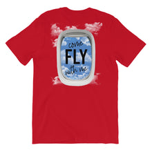 Load image into Gallery viewer, Come Fly With Me T-Shirt - Travel Suppliers Plus